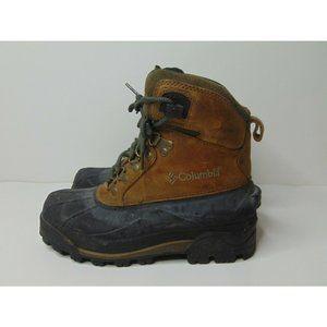 Columbia US 8 Waterproof Hiking Rain Boots Brown